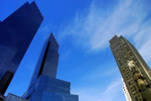 Edificios de organizaciones bancarias
