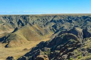 Relieves abruptos o montañosos