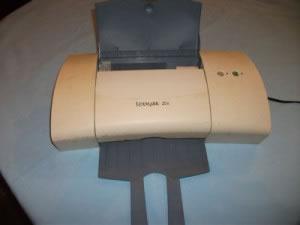 Impresora de inyección