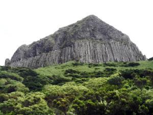Formación producto de actividad volcánica de varios millones de años de antigüedad.