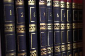 Muchas enciclopedias viene en varios tomos o libros