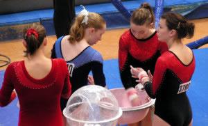 Competición de gimnasia