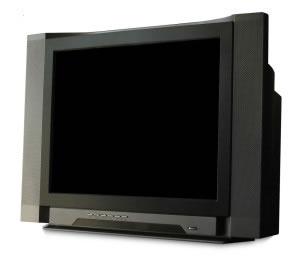 Las pantallas CTR (tubos de rayos catódicos), aún se usan tanto en monitores de computadora como en televisiones