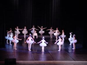 Un tipo de teatro es el ballet infantil