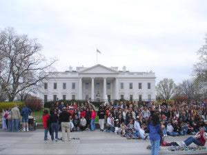 Reunión política en la Casa Blanca
