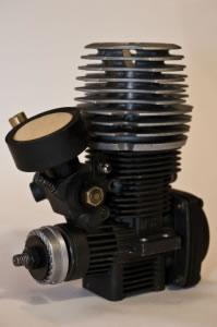 Motor de un pistón