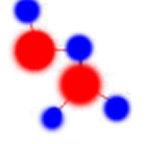 Enlaces de átomos.