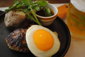 Huevo y carne