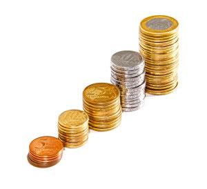 5 torres de monedas