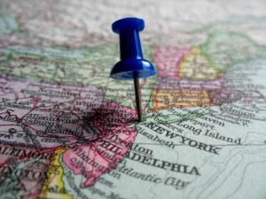 Punto en el mapa
