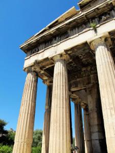 Edificio griego clásico
