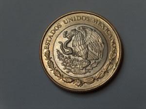 Moneda peso México