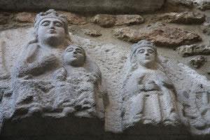 Esculturas medievales.