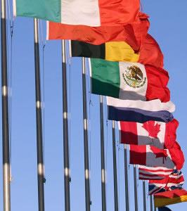 Banderas de los países