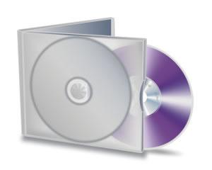 DVD en caja listo para duplicar