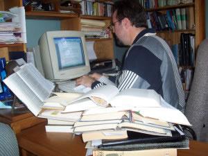Analista en computadora