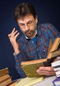 Investigación en libros antiguos