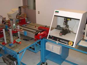 Robot de impresión y corte