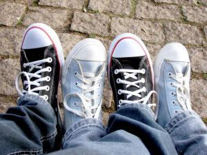 Tenis tipo Converse