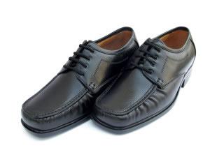 Zapatos negros de agujeta