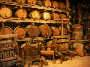 Toneles de vino