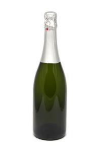 Botella de champaña o champagne