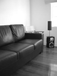 Sala en el interior de una vivienda