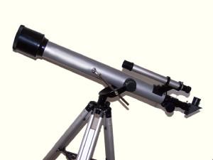Telescopio en tripié.