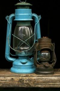 Lámpara de Keroseno.