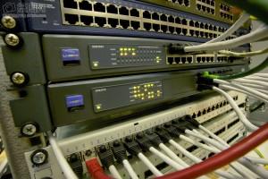 Cableado de red en ruteador
