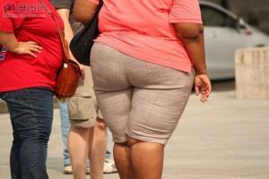 Mujer obesa.