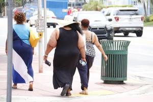 Mujeres con exceso de grasa