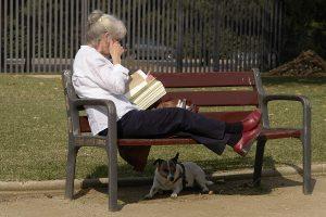 Lectura de adulto mayor