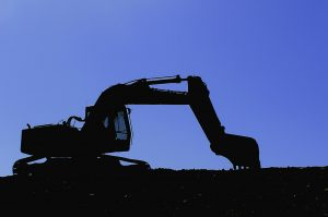 Excavadora de motor