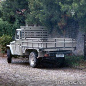 Camión de redilas o góndola