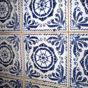 Parede de azulejos
