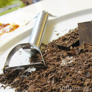 Rallador de chocolate