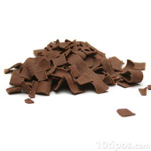 Chocolate en forma de hojuelas