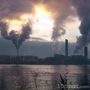 Contaminación por fabricas
