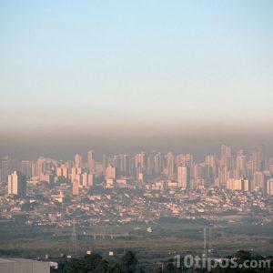 Efecto invernadero en las grandes ciudades