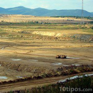 Erosión por minería