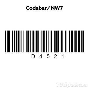 codabar NW7