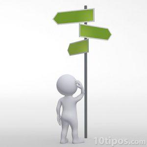 Toma de decisión de diferentes caminos