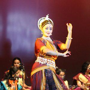 Danza típica de la cultura hindú