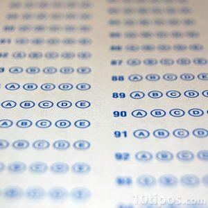 Examen de opción multiple