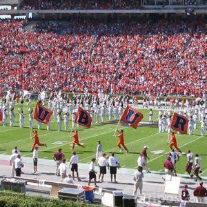Inauguración en el estadio