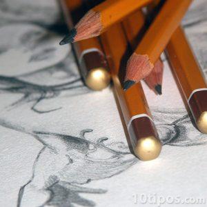 Dibujo a mano alzada de figura humana
