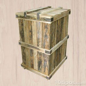 Embalaje hecho de madera para transporte