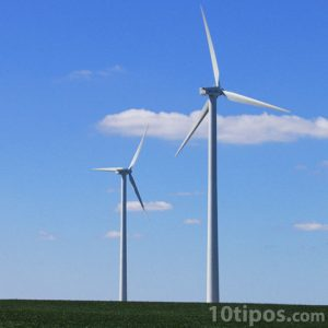 Molinos eólica generadores de electricidad