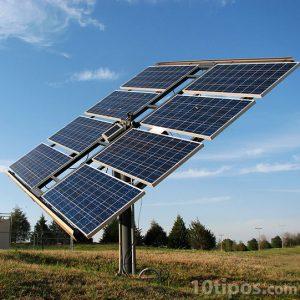 Granja de celdas solares